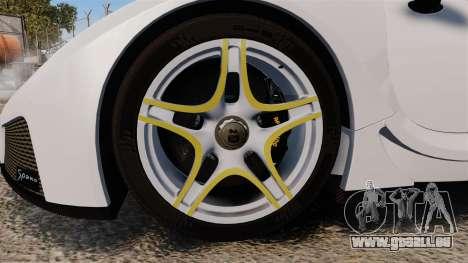 GTA Spano pour GTA 4 Vue arrière