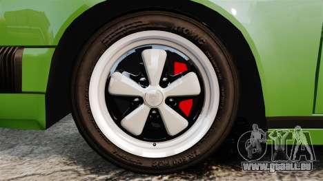 Porsche 911 Targa 1974 für GTA 4 Rückansicht