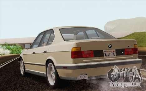BMW M5 E34 1991 NA-spec für GTA San Andreas linke Ansicht