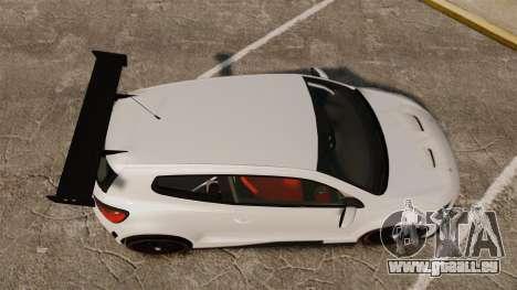 Volkswagen Scirocco pour GTA 4 est un droit