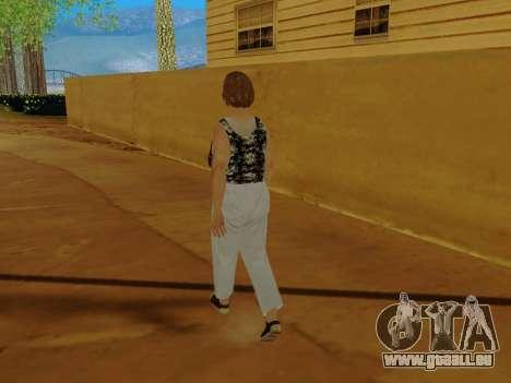 Une femme âgée v.2 pour GTA San Andreas septième écran