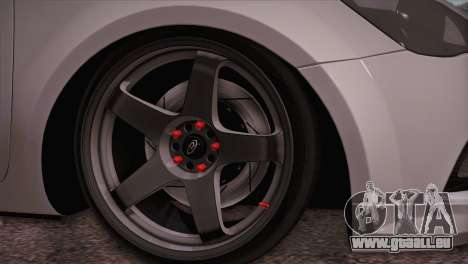 Kia Ceed 2011 pour GTA San Andreas sur la vue arrière gauche