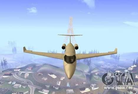 Air traffic realism 1.0 pour GTA San Andreas troisième écran