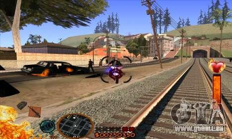 C-HUD Fire für GTA San Andreas her Screenshot