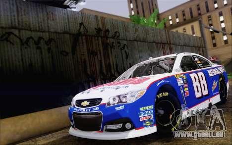 Chevrolet SS NASCAR Sprint Cup 2013 für GTA San Andreas