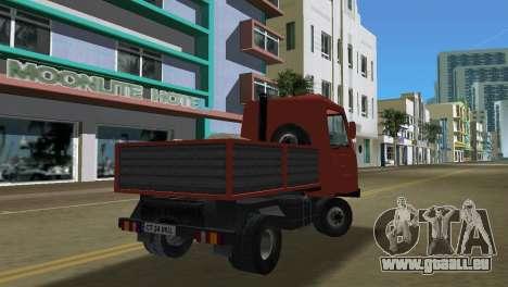 Multicar pour GTA Vice City vue latérale