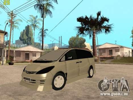 Toyota Estima Altemiss 2wd für GTA San Andreas