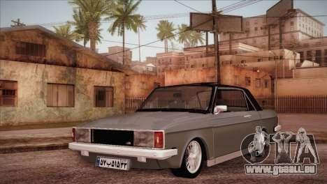 Peykan 80 Blackroof pour GTA San Andreas