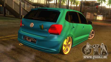 Volkswagen Polo für GTA San Andreas linke Ansicht