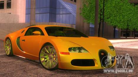 Bugatti Veyron 2009 pour GTA San Andreas