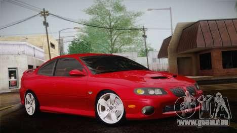 Pontiac GTO 2005 pour GTA San Andreas