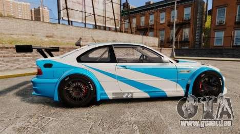 BMW M3 GTR 2012 Most Wanted v1.1 pour GTA 4 est une gauche