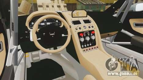 Aston Martin V12 Zagato pour GTA 4 est un côté