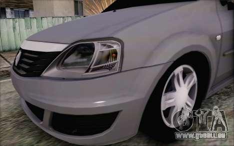 Renault Logan für GTA San Andreas rechten Ansicht