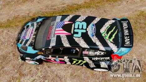 Ford Fiesta RS [Hoonigan] pour GTA 4 est un droit