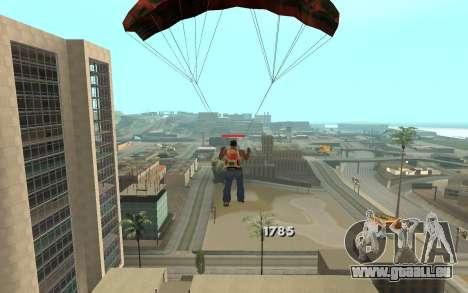 Changement de gamme de rendu pour GTA San Andreas sixième écran