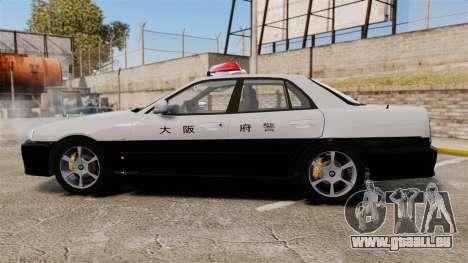 Nissan Skyline ER34 Police pour GTA 4 est une gauche