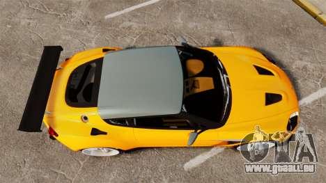 Aston Martin V12 Zagato für GTA 4 rechte Ansicht