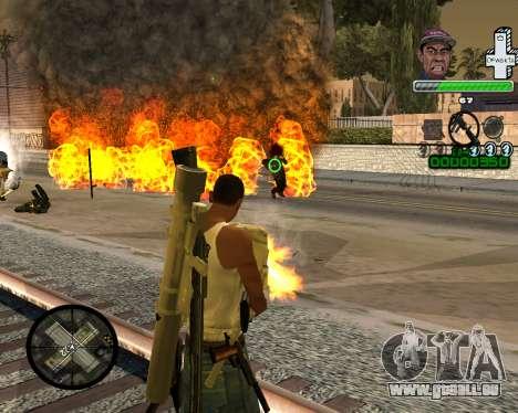 С-HAUT SWAG für GTA San Andreas zweiten Screenshot