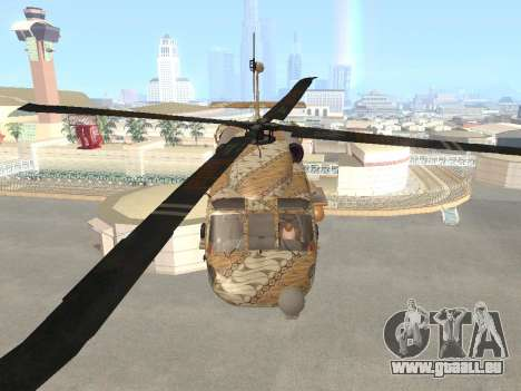 SH-60  Batik Indonesia für GTA San Andreas Innenansicht
