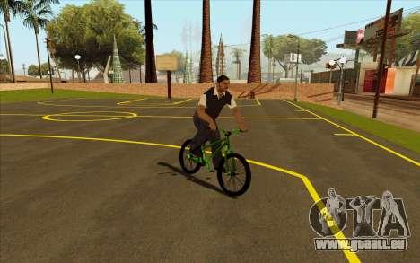 Street MTB bike pour GTA San Andreas vue de droite