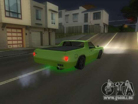 Drag Picador v1 für GTA San Andreas zurück linke Ansicht