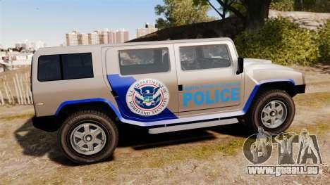 Patriot Police v2.0 für GTA 4 linke Ansicht