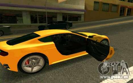 GTA V Dewbauchee Rapid GT Coupe pour GTA San Andreas vue de droite