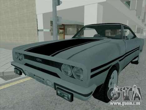 Plymouth Road RunneR GTX 1970 pour GTA San Andreas