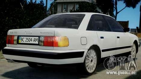 Audi 100 C4 1993 pour GTA 4 est une gauche