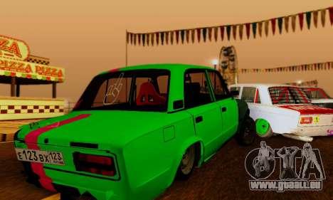 BMWAZ pour GTA San Andreas vue de droite