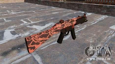 Le pistolet mitrailleur HK MP5 pour GTA 4 secondes d'écran
