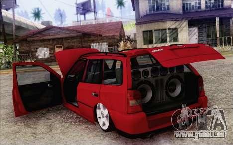 Volkswagen Parati SPS Club pour GTA San Andreas vue intérieure