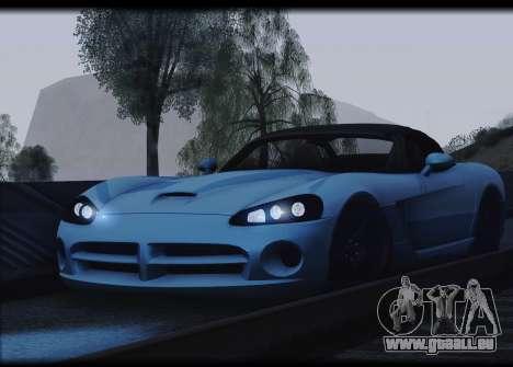 Dodge Viper SRT-10 pour GTA San Andreas