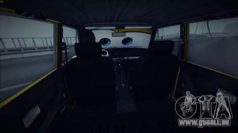 VAZ 2106 par Les Voitures pour GTA San Andreas vue de droite