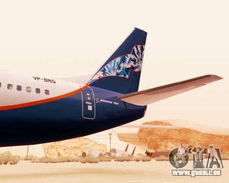 Boeing 737-500, Aeroflot Nord pour GTA San Andreas vue de droite