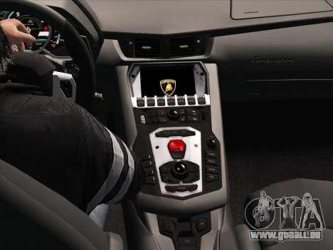 Lamborghini Aventador LP700-4 2013 für GTA San Andreas