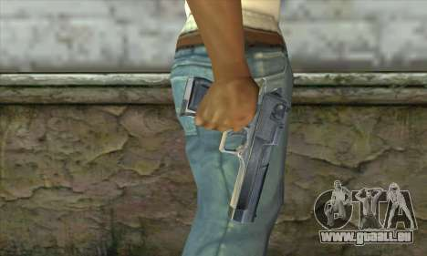 Le pistolet de Stalker pour GTA San Andreas troisième écran
