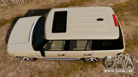 Range Rover Supercharger 2008 für GTA 4 rechte Ansicht