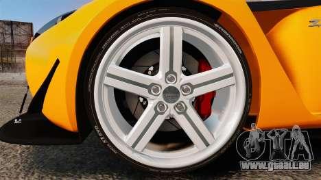 Aston Martin V12 Zagato pour GTA 4 Vue arrière