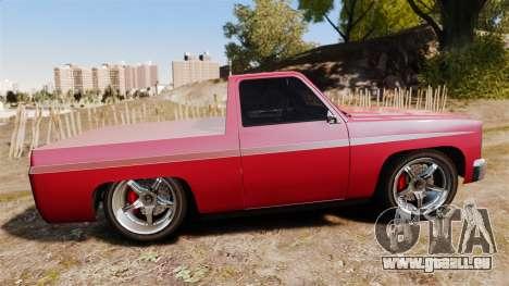 Rancher Lowride für GTA 4 linke Ansicht