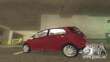 Mitsubishi i MiEV für GTA San Andreas linke Ansicht