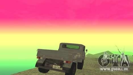 Mitsubishi 2W400 für GTA San Andreas rechten Ansicht