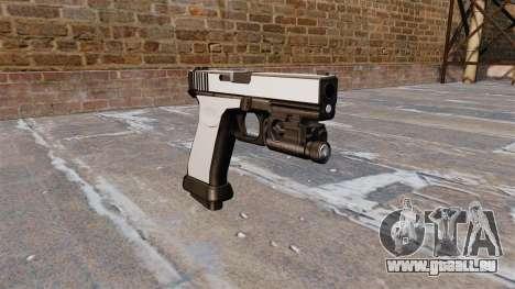 Pistole Glock 20 Chrom für GTA 4