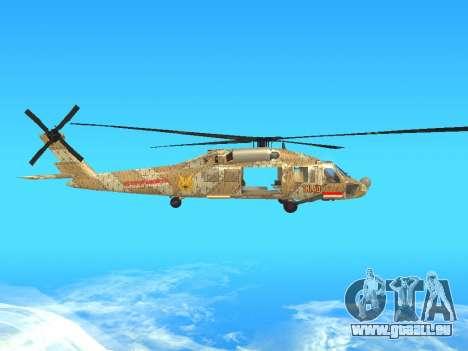 SH-60  Batik Indonesia für GTA San Andreas Rückansicht