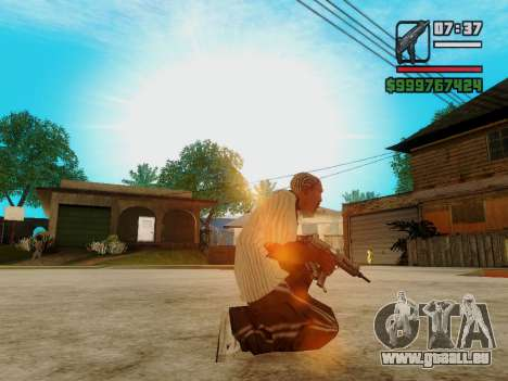 Die Maschinenpistole UZI für GTA San Andreas her Screenshot