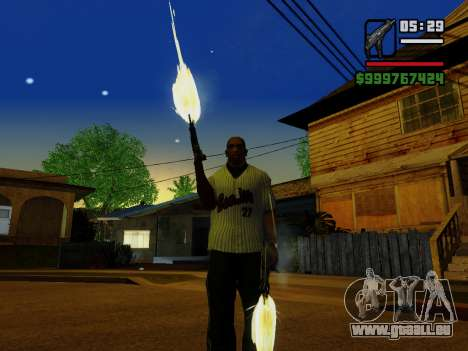 Die Maschinenpistole UZI für GTA San Andreas zehnten Screenshot