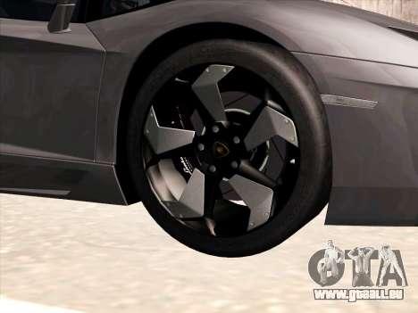 Lamborghini Aventador LP700-4 2013 pour GTA San Andreas salon