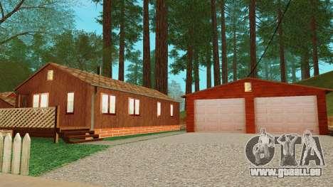 Une maison dans le village pour GTA San Andreas cinquième écran