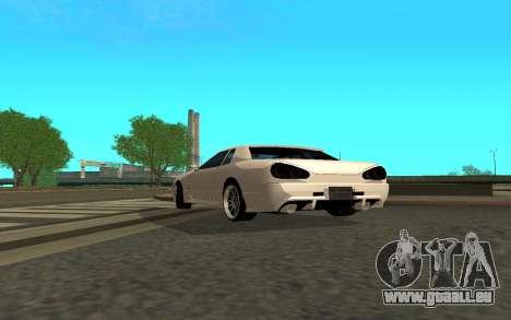 Elegy By Eweest v0.1 pour GTA San Andreas sur la vue arrière gauche
